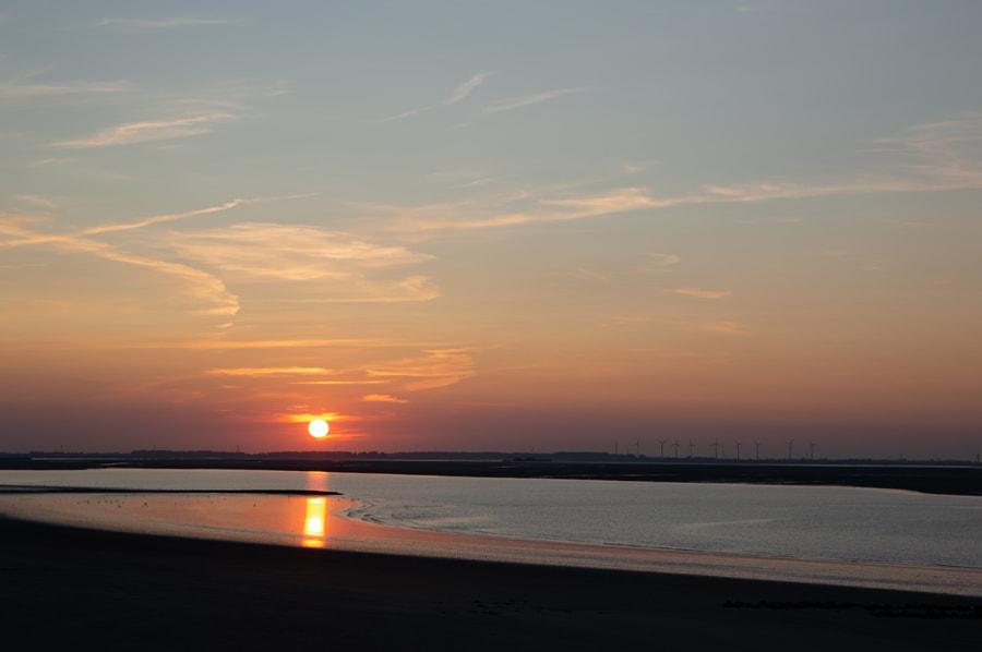 Sunset at Perkpolder by Philip van Roeijen on 500px.com