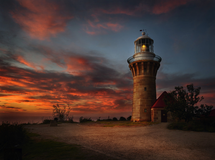 Barranjoey Light House by Steve Millar on 500px.com