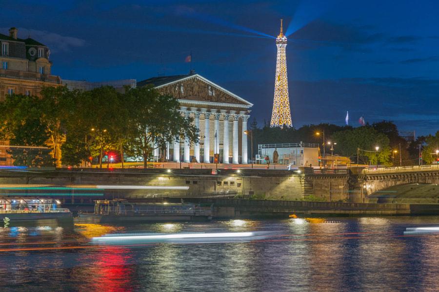 Paris by night by NIKOLAI KARANESHEV on 500px.com