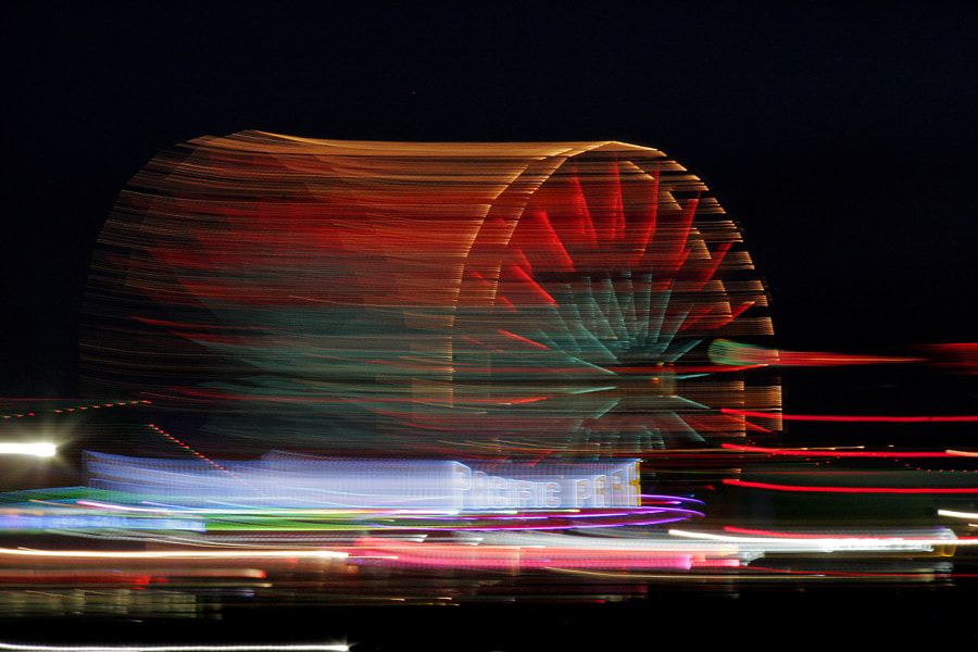 Fun with the Santa Monica Pier by Carl Main on 500px.com