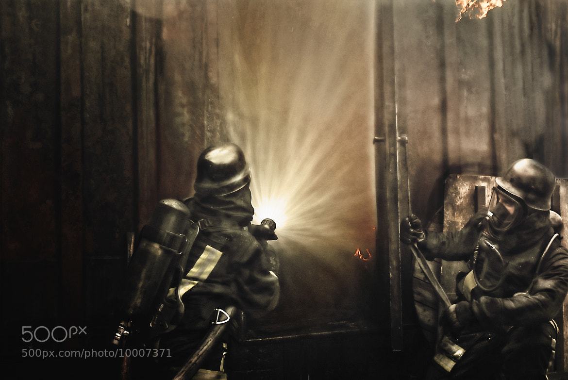 Photograph firefighters by peterpank-media hamburg   on 500px