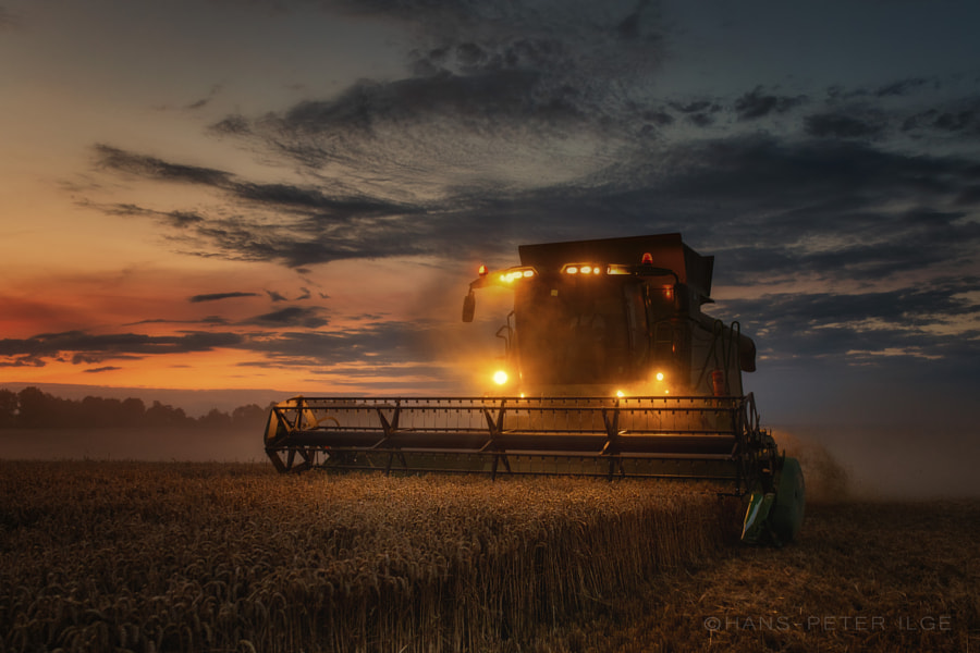 Harvest time by Hans-Peter Ilge on 500px.com