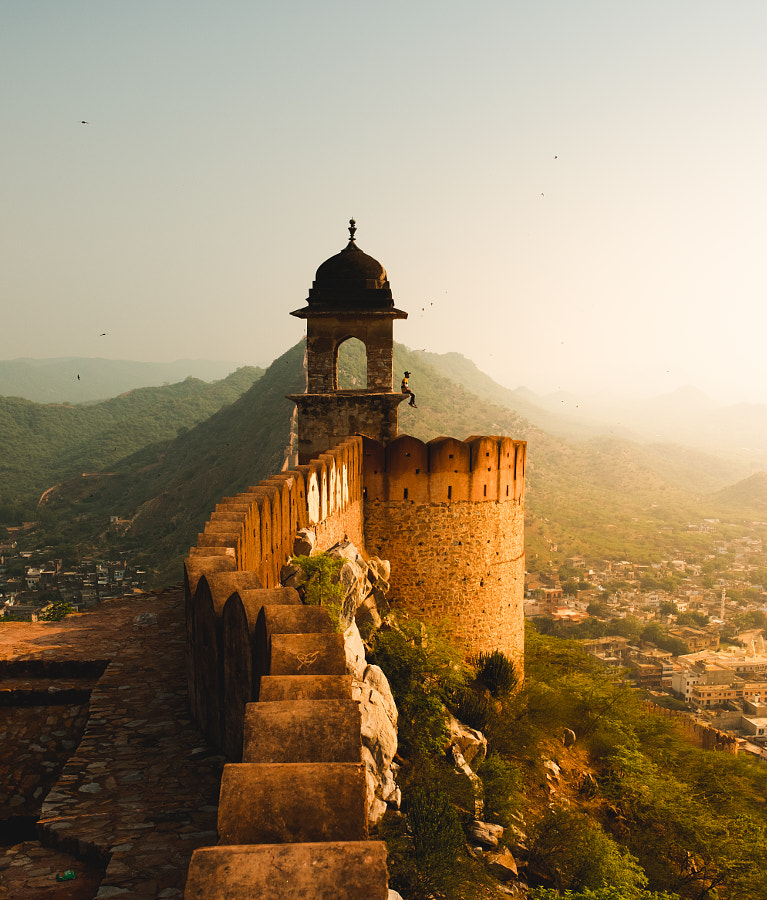 Sunrise at the Amber Fort by Jeet Khagram on 500px.com