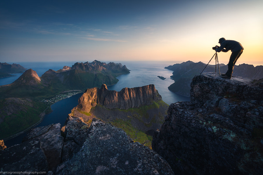 On top of Senja Island by Marco Grassi on 500px.com