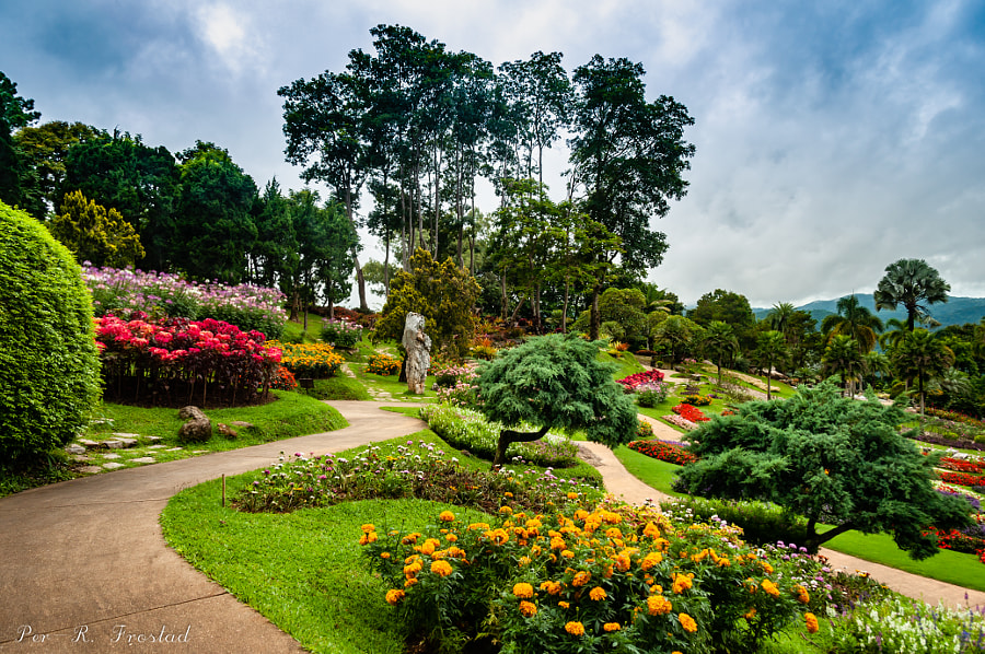 Mae Fah Royal Garden Doi Tung by Per-Ragnvald Frostad on 500px.com