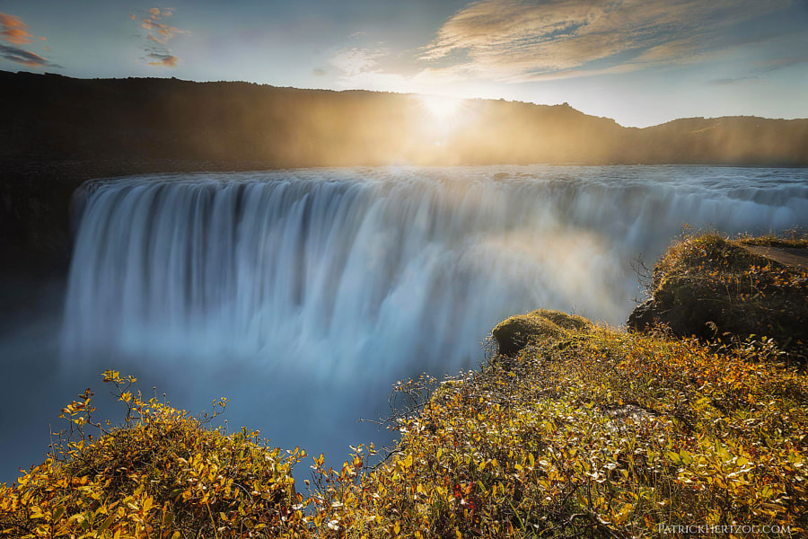 Sunrise at Dettifoss by Patrick Hertzog on 500px.com