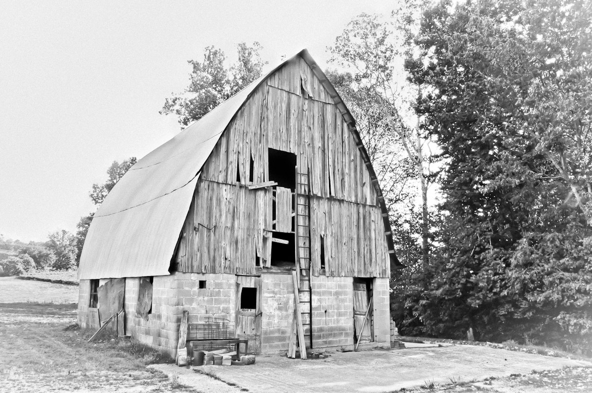 Photograph Granny's Barn by Tracy Wilson on 500px
