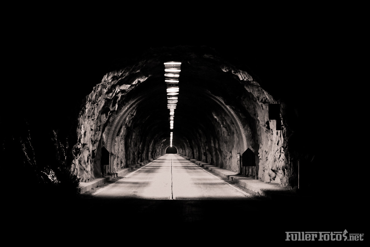 Photograph Tunnel View Tunnel by Tom Fuller on 500px