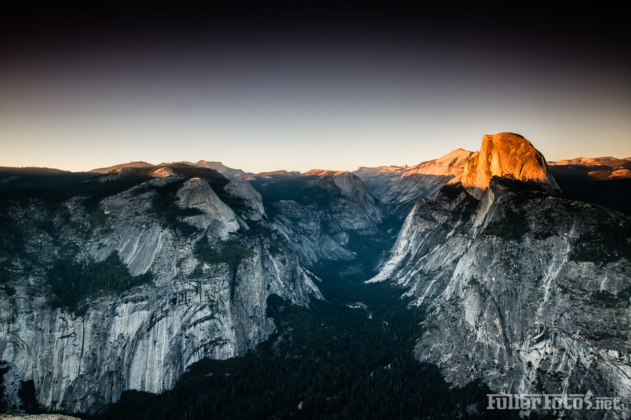 Photograph Half Dome at Sunset by Tom Fuller on 500px