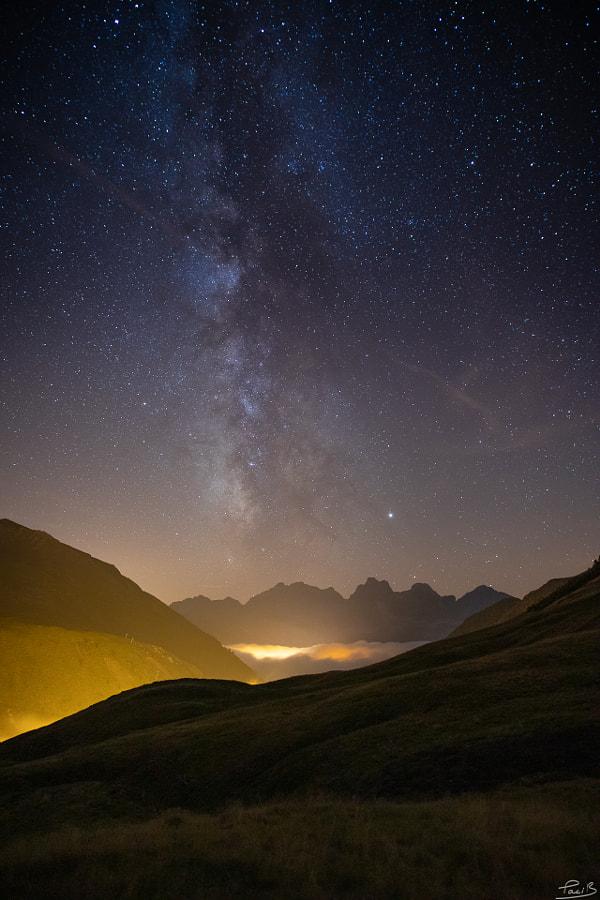 Voie Lactée sur Candanchu