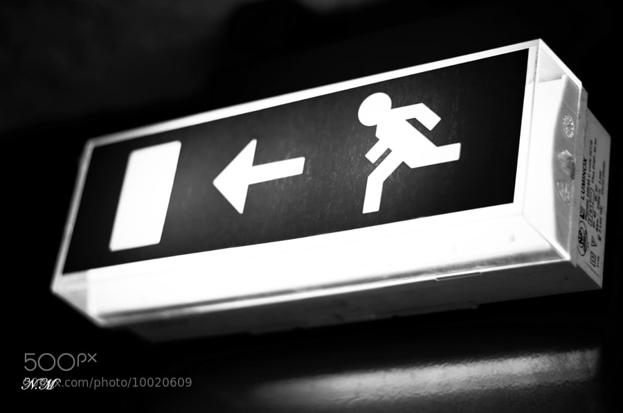 Exit! by Nono M. (EventphotoProd)) on 500px.com