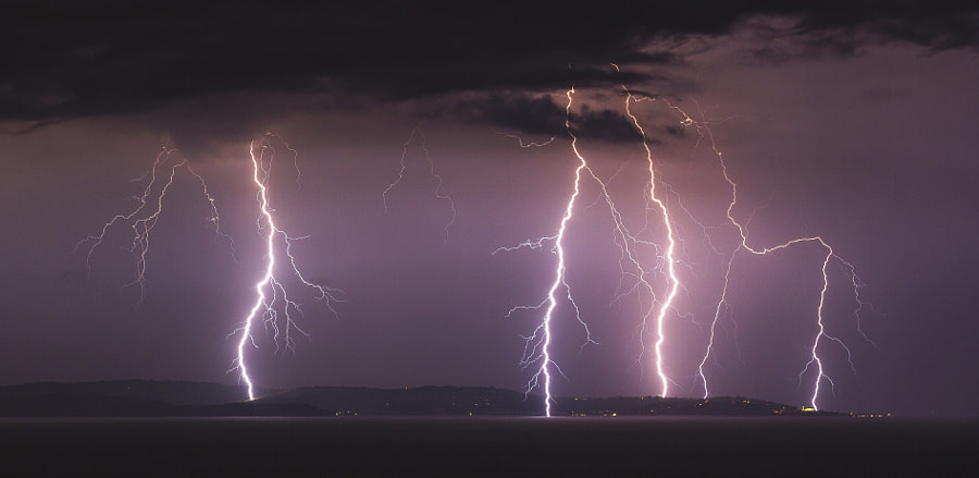 Distant Lightning by Jure Batagelj on 500px.com