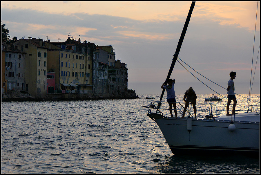 Rovinj at sunset by Daniela Caneschi on 500px.com