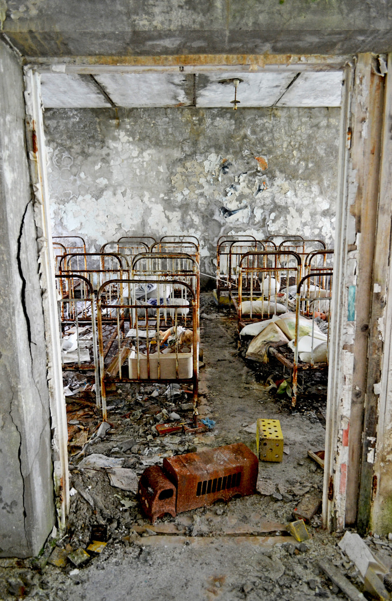 Photograph Pripyat nursery by Victoria Henry on 500px