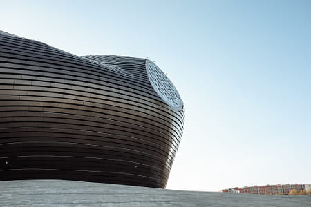Ordos Museum by Alejandro Santiago on 500px