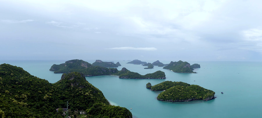 Panoramic view of Anthong Bay by Yves LE LAYO on 500px.com