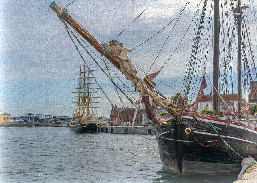 Tall ships in the harbour..  by Peter Odel on 500px.com