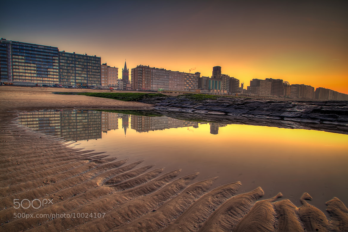 Photograph Reflections of Blankenberge by René Ladenius on 500px