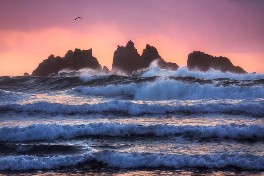 Bandon Wave Layers by Daniel Fleischhacker on 500px.com