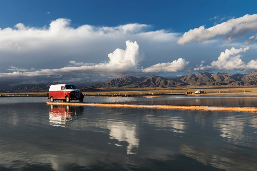 盐湖风光Salt Lake Scenery by 牧人 Shepherd  on 500px.com