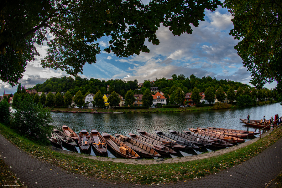 Tübingen am Neckar by Peter König on 500px.com