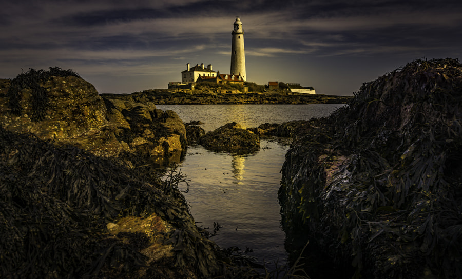 St. Mary's lighthouse by Ray Bilcliff on 500px.com