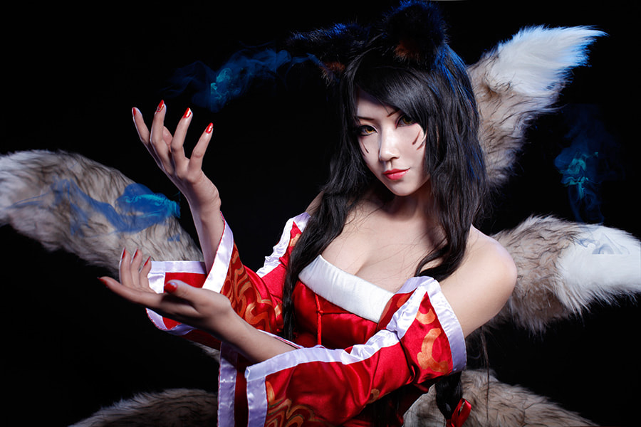 Photograph League of Legends_ahri / 英雄联盟_阿狸 / リーグ・オブ・レジェンド_アーシェ by Ting Li on 500px