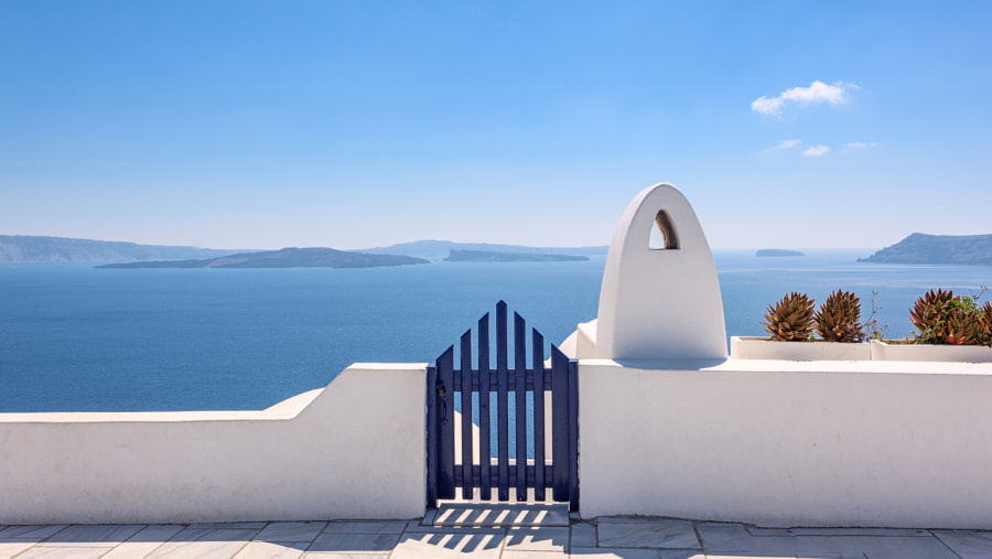Aegean - Lost in the blue by Primiano D'Apote