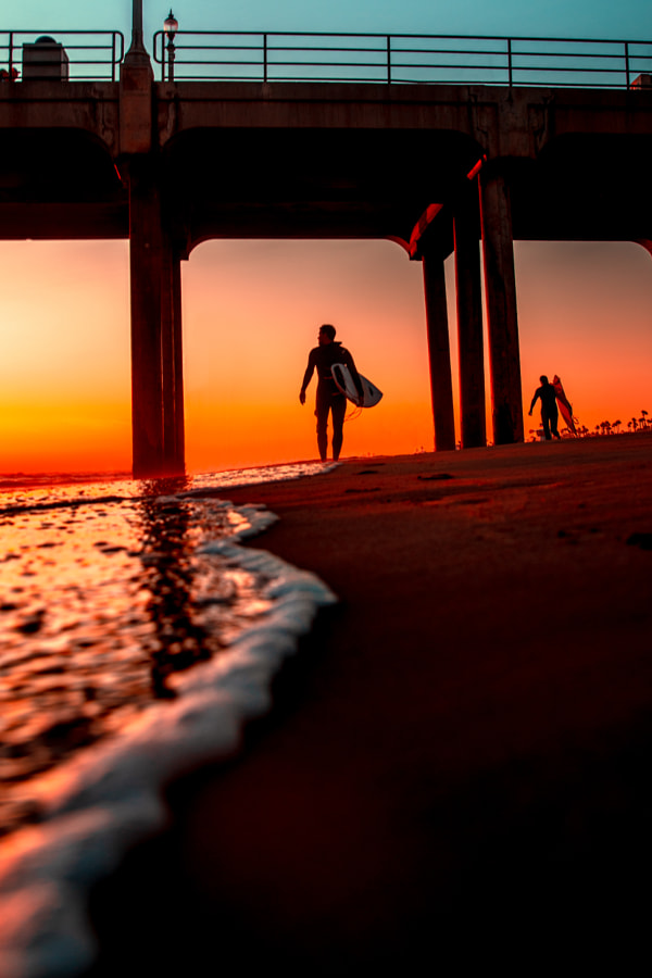 Huntington Sunset by Ryan Longnecker on 500px.com