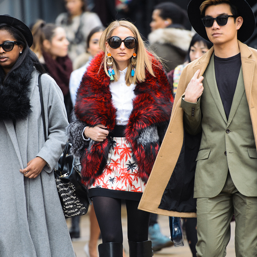 Photograph New York Fashion Week Street Style Photo by Grant Friedman on 500px