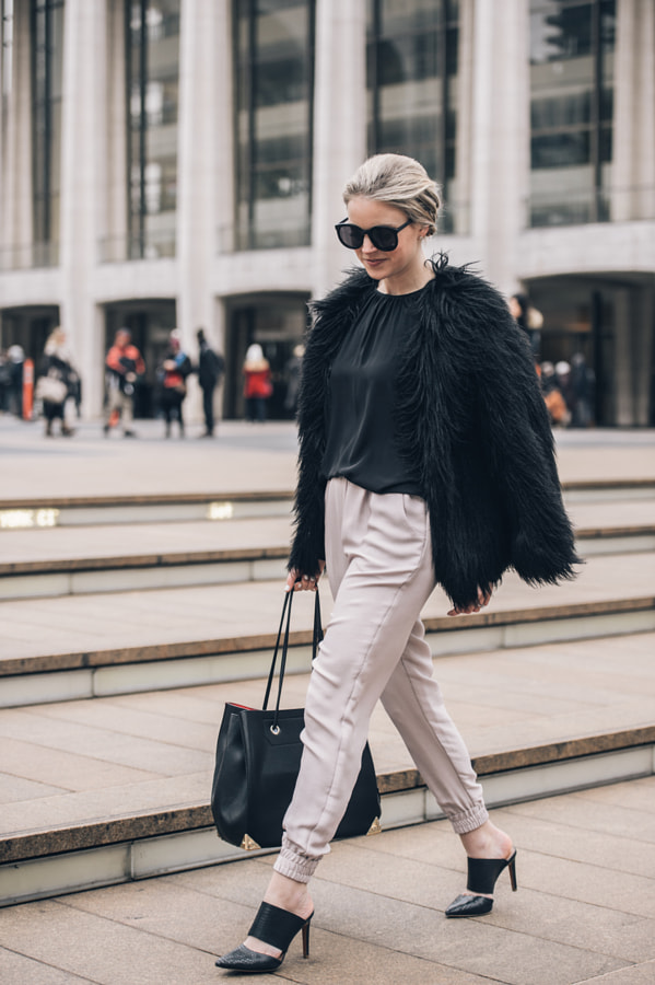 Photograph Kendall Johnson of Styled Snapshots During Fashion Week by Grant Friedman on 500px