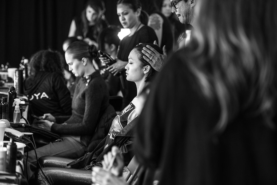 Photograph Hair and Makeup New York Fashion Week by Grant Friedman on 500px