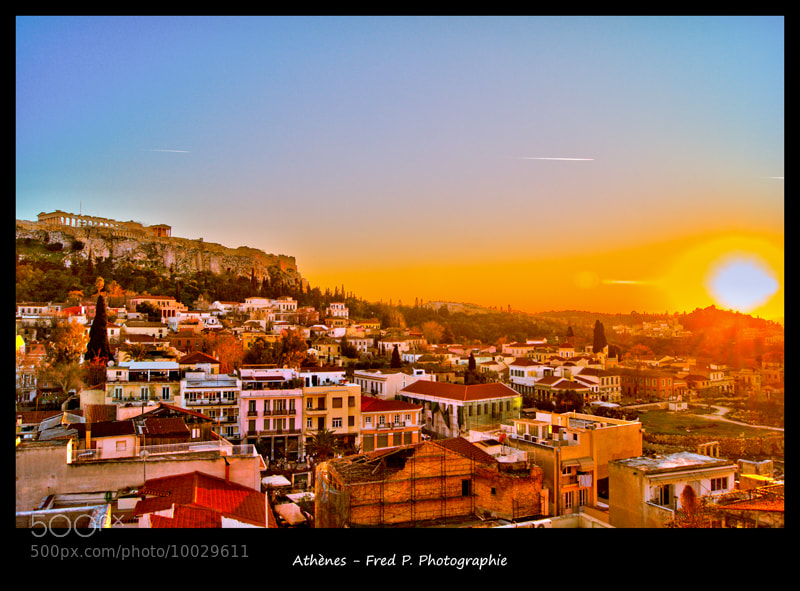 Photograph Sunlit Acropolis by Fred Picard on 500px