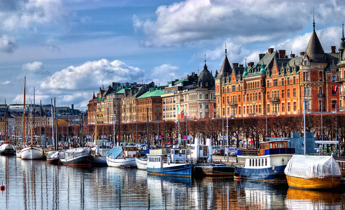 Photograph Stockholm - I like this city :) by Dawid Martynowski on 500px