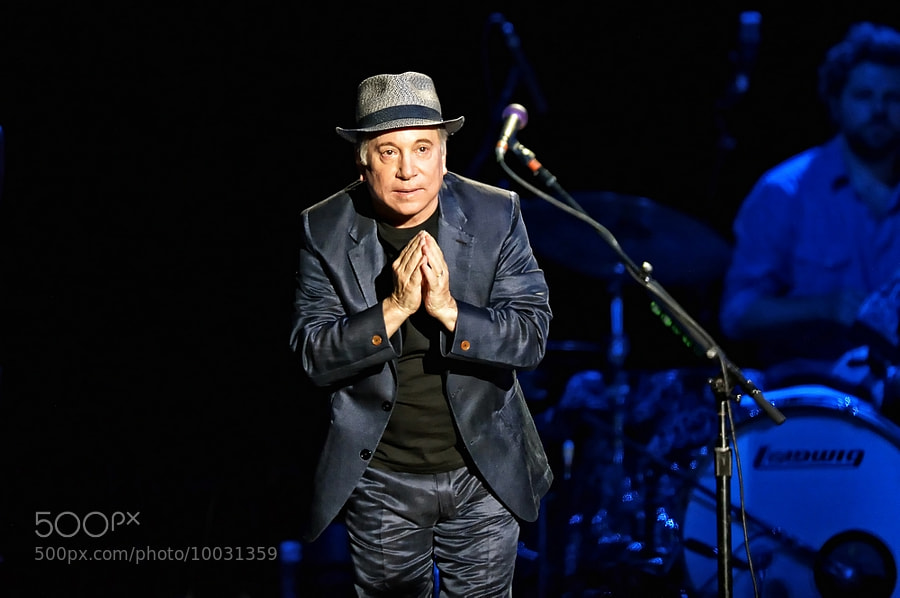 Photograph Paul Simon  by Luuk Denekamp on 500px