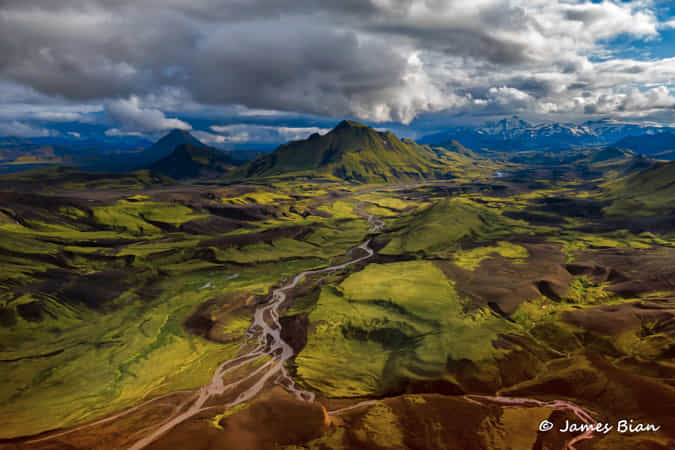 Highland Landscape by James Bian