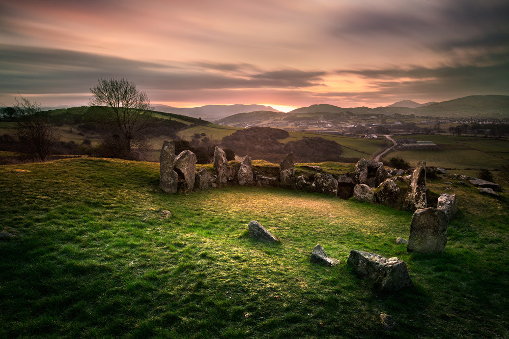 Photograph Ballymacdermot Court Tomb by Stephen Emerson on 500px
