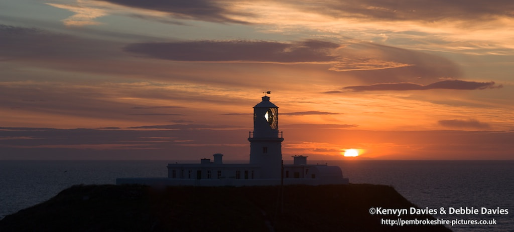 Photograph Sunset at Strumble Head Lighthouse by Kenvyn Davies on 500px