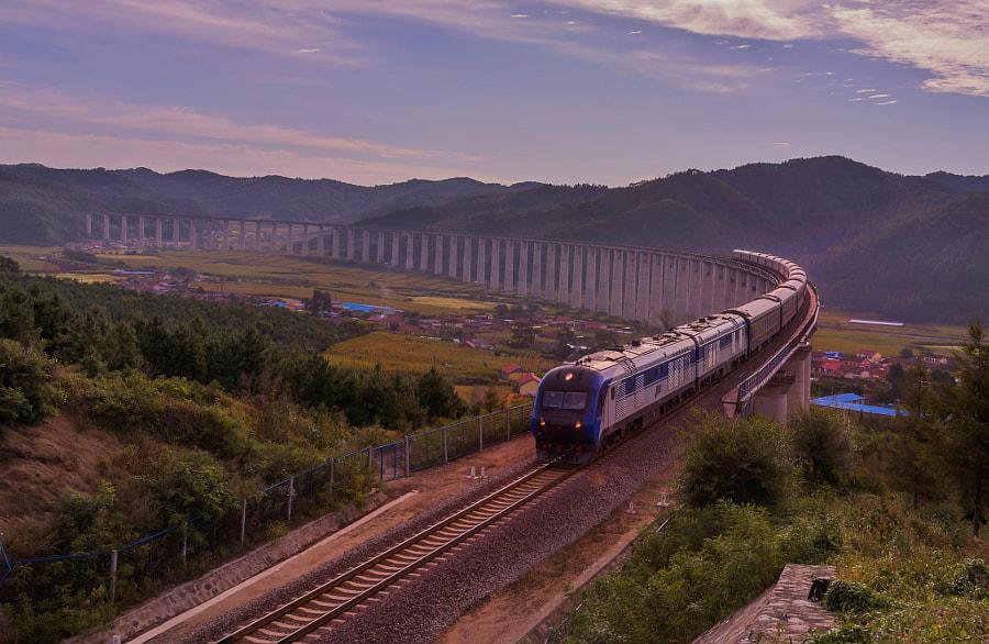 天路 by 青草 on 500px.com