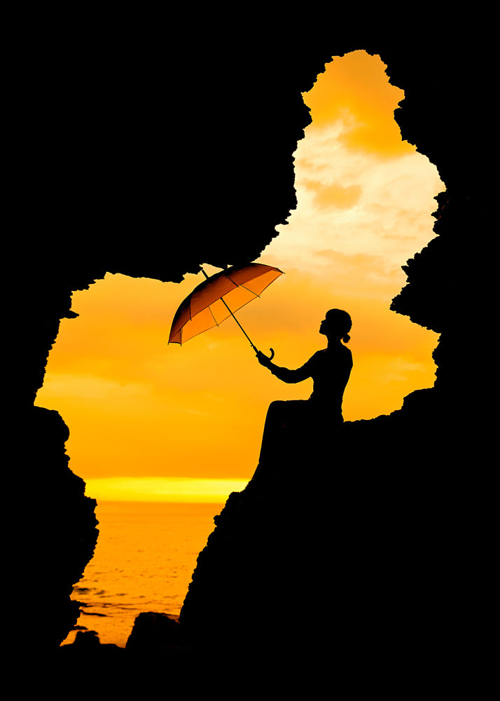 Silhouette In The Sunset !! By Smoothy . / 500px