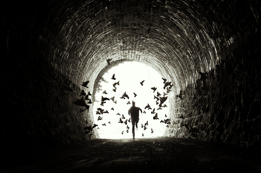 19/52 Week Project: Out of the darkness by Federico Sciuca on 500px.com