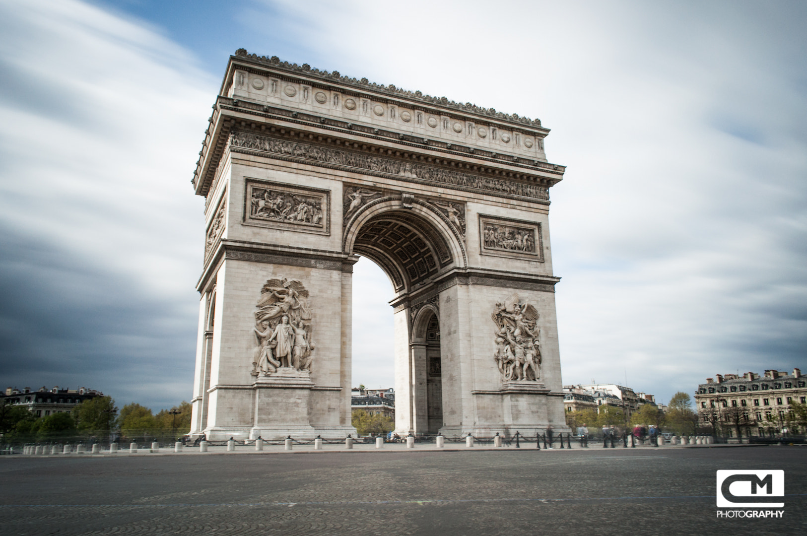 Photograph Arc de Triomphe by Christoph Müller on 500px