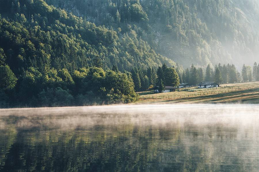 Misty Lake by Marvin Diehl⭐️ on 500px.com