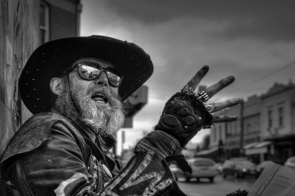Photograph The Bard of Brunswick Street by Andrew Fuller on 500px