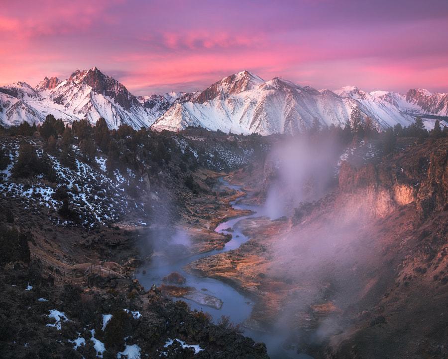 Hot Creek Sunrise by Daniel Fleischhacker on 500px.com
