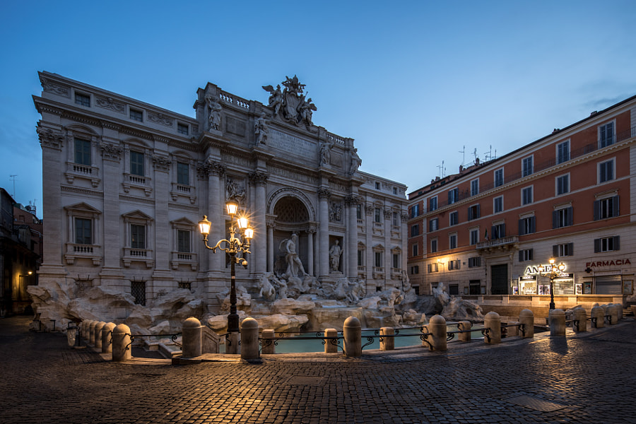 Fontana di Trevi by Andrea Pisani on 500px.com
