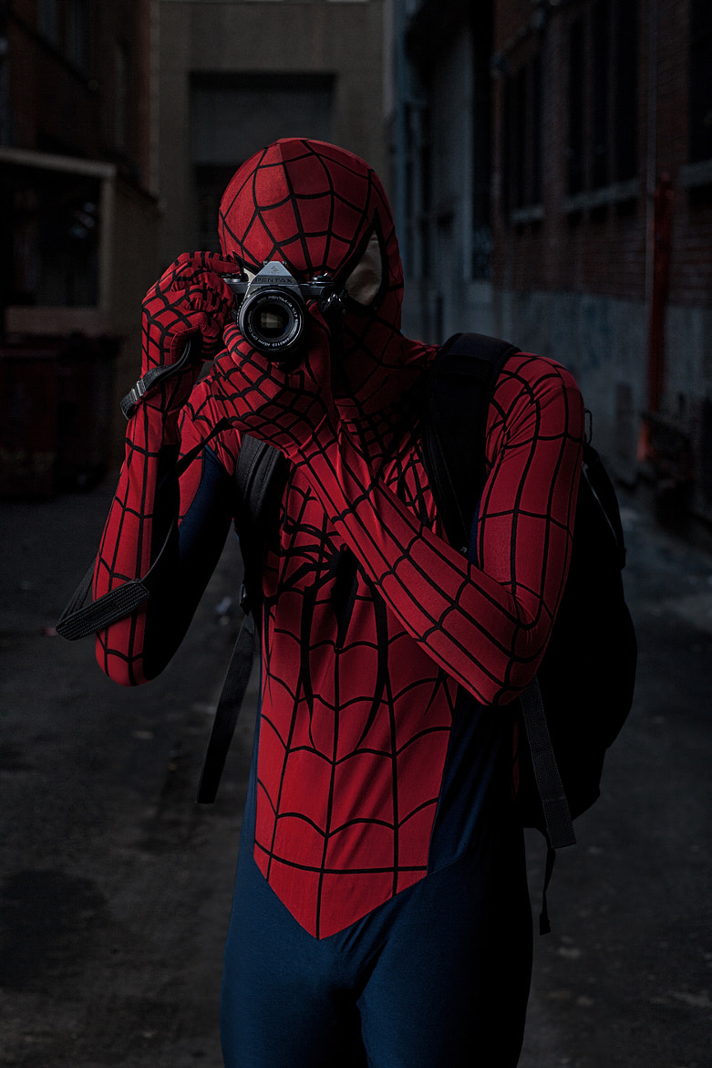 Photograph The Amazing Spider-Man: Intro by Jeremy Nguyen on 500px