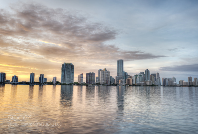 Photograph Miami Skyline by Jesse  Kunerth on 500px
