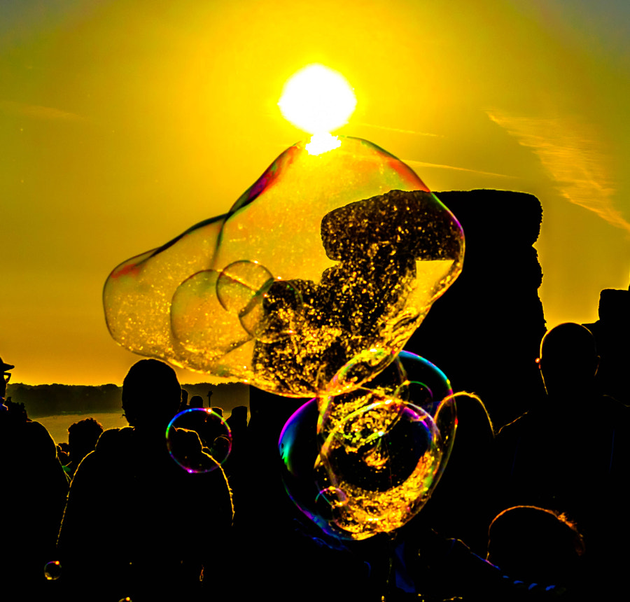 Golden Bubbles de Peter Campion en 500px.com