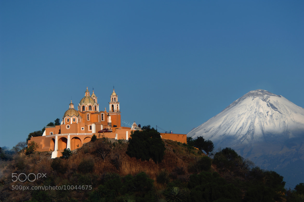 Photograph Snowy, Volcano and Church by Cristobal Garciaferro Rubio on 500px
